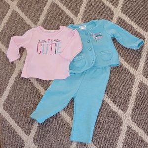 🌟 Absorba 3 Piece Matching Outfit